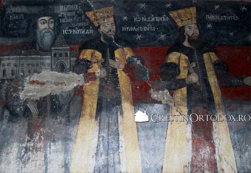 Manastirea Valea Manastirii - Tablou votiv