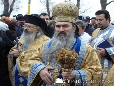 IPS Teodosie - Boboteaza in Arhiepiscopia Tomisului