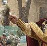 Obiceiul sfintirii caselor in Ajunul Bobotezei