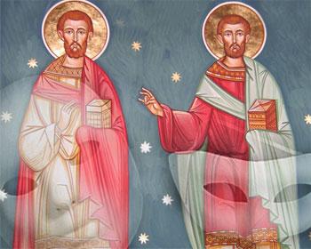 Sfintii mimi – convertirea la Hristos a profesionistilor rasului