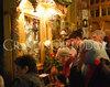 Pelerini la icona Sfantului Mina