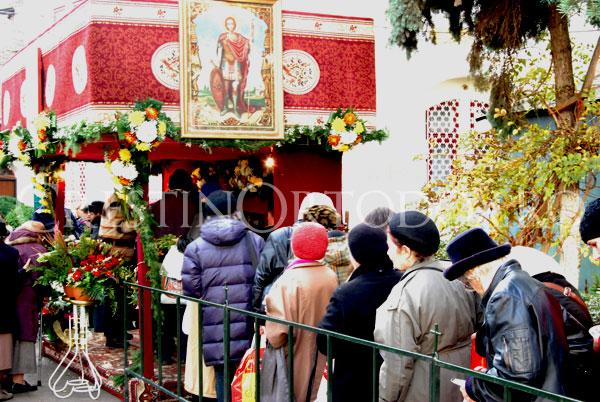 Pelerinaj la biserica Sfantul Mina