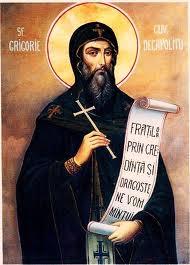 Sfantul Cuvios Grigorie Decapolitul