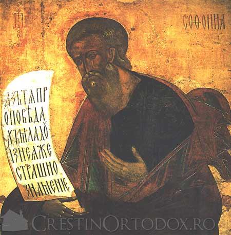 Sfantul Proroc Sofonie