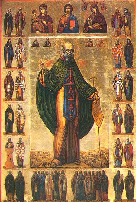Sfantul Sava cel Sfintit - 5 decembrie