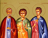 Sfintii Mucenici Mina, Ermoghen si Eugraf