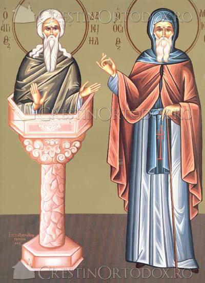 Sfantul Daniil Stalnicul, Sfantul Luca cel Nou Stalpnicul