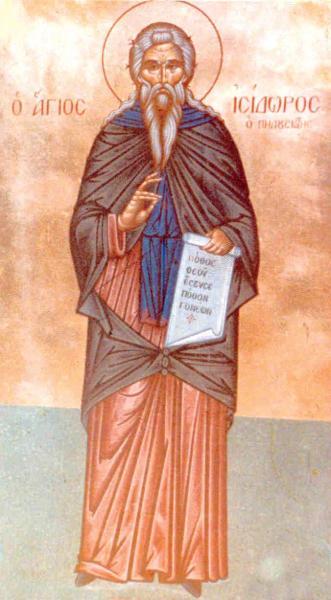Sfantul Isidor Pelusiotul