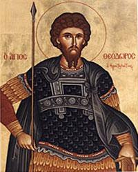 Sfantul Teodor Stratilat; Sfantul Proroc Zaharia