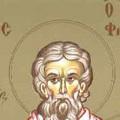 Sfantul Pangratiu, episcopul Tavromeniei