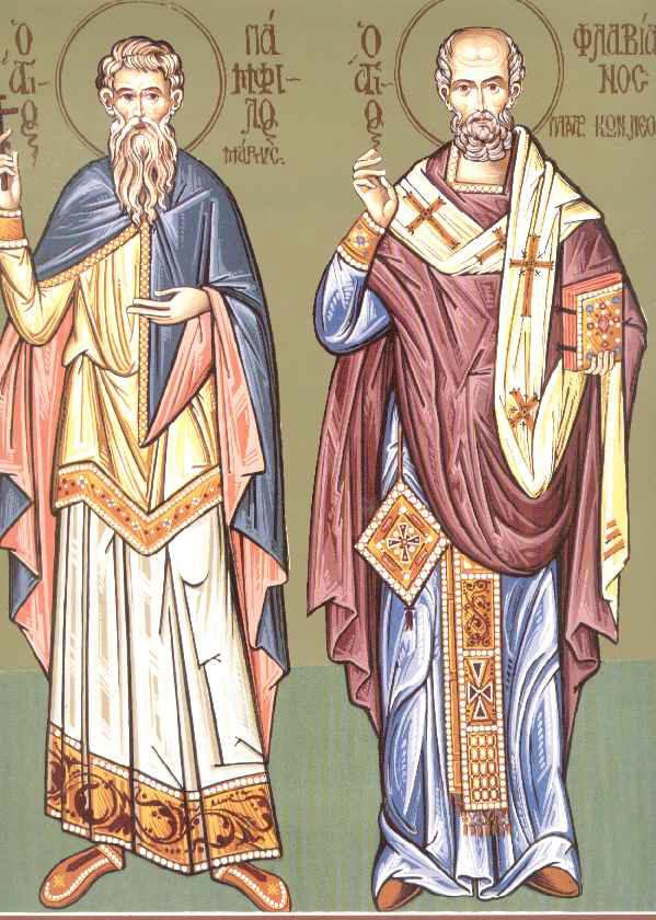Sfantul Mucenic Pamfil - Sfantul Flavian