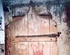 Biserica de lemn din Dobricu Lapusului - Usa de intrare