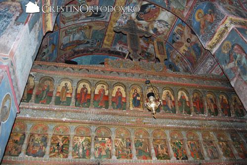 Manastirea Valea Manastirii - Catapeteasma