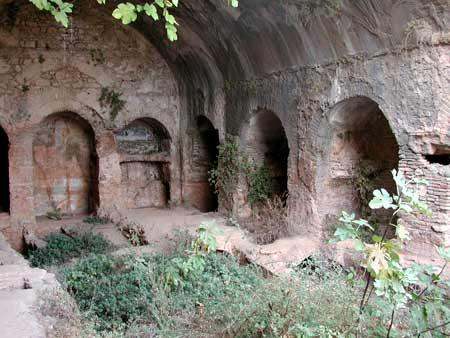 Sfintii sapte tineri din Efes - Pestera