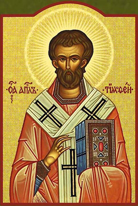 Sfantul Apostol Timotei - 22 ianuarie