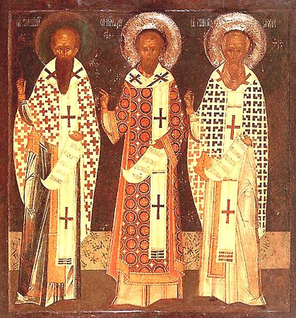 Sfintii Trei Ierarhi - 30 ianuarie