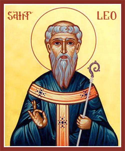 Sfantul Leon, episcopul Cataniei